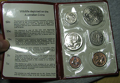 1975 Australian Mint Set Uncirculated with Folder LOW START PRICE