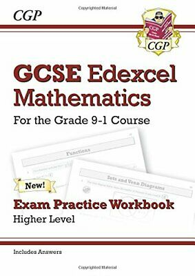 GCSE Maths Edexcel Exam Practice Workbook: Higher - for the Gra... by Books, Cgp