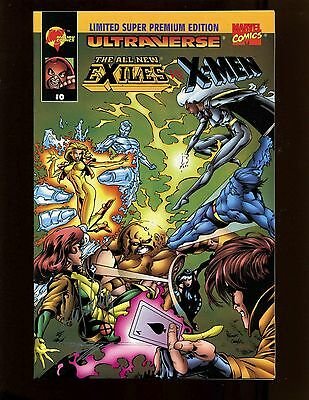 Exiles Vs X-Men #0 Super Premium Ed. Gold NM- Autographed Lashley Wegrzyn w/COA
