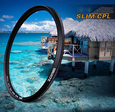Zomei 52/58/62/67/72/77/82mm Slim CPL Circular Polarizing Polarizer Lens Filter