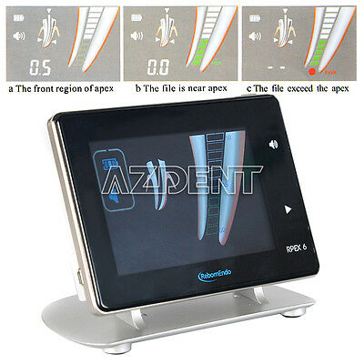 4.5 LCD Metallic Endodontic Root Canal RPEX Apex Locator III Woodpecker Style FR