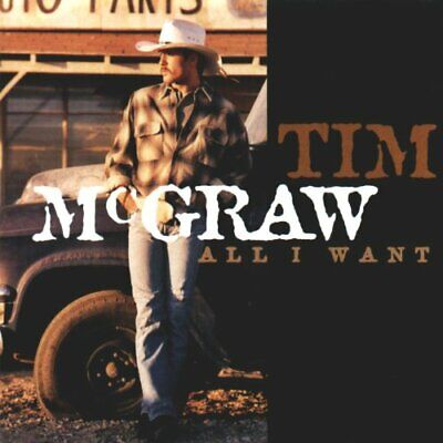 Tim McGraw - All I Want - Tim McGraw CD E1VG The Cheap Fast Free Post The Cheap
