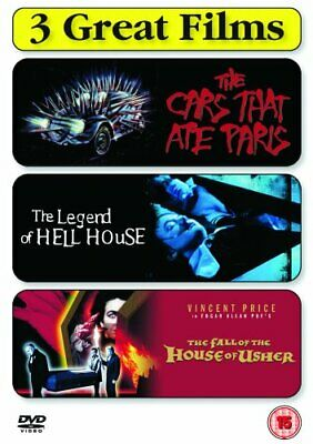 The Cars That Ate Paris / The Legend of Hell House / The Fall Of ... - DVD  8YVG