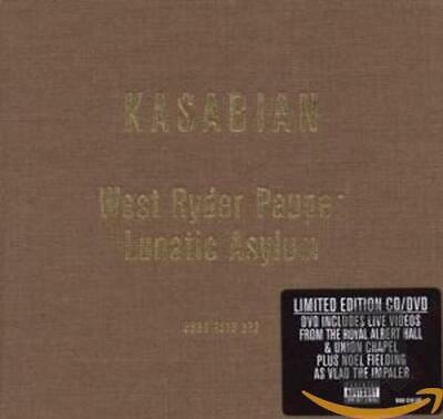 West Ryder Pauper Lunatic Asylum Special Edition CD/DVD - Kasabian CD CYVG The