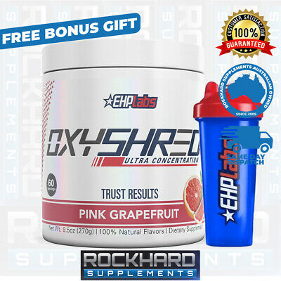 EHPLABS Oxyshred Free Shaker Oxy Shred EHP Labs Thermogenic Fat Burner
