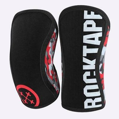 RockTape Assassins Knee Sleeves - 5mm & 7mm Red Camo (PAIR) - Unisex