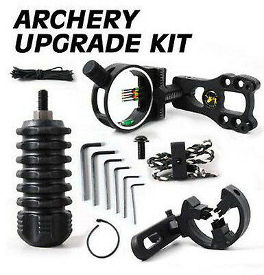 Upgrade Compound Bow Archery Combo Acc Fitting Bow Kit Stabilizer Black Fabulous