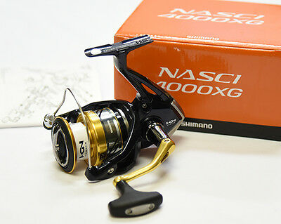 2016 NEW Shimano NASCI 4000XG Spinning Reel