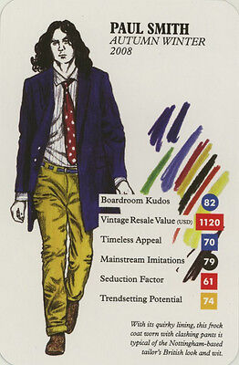 Single Swap Trade Card: Paul Smith. New. Fashion.