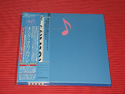 King Crimson Beat 40Th Anniversary  Japan Mini Lp  Uhq Cd + Dvd Edition