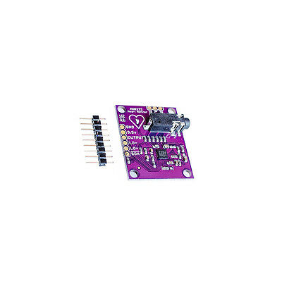 Single Lead AD8232 Heart Rate Monitor/ECG Developemt Kit Arduino Compatible u8