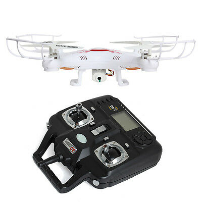X5C-1 Explorers With HD Camera 2.4GHz 4CH 6 Axis Gyro RC Quadcopter Heli