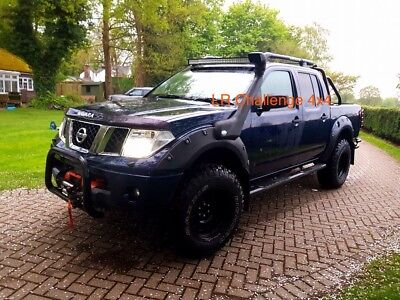 Nissan Navara D40 LED Light Bar brackets 42'' Brand New Design 2005-2015