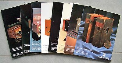 Christies Cameras & Photographic Equipment Catalogue 1994 Full Year Set