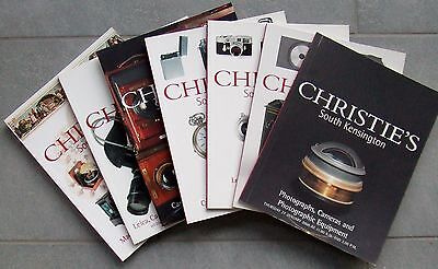 Christies Cameras & Photographic Equipment Catalogues 2000