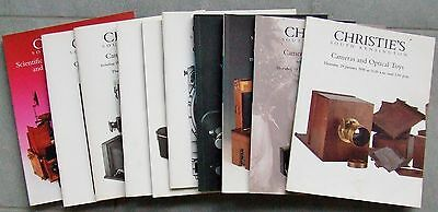 Christies Cameras & Photographic Equipment Catalogue 1998 Full Year Set