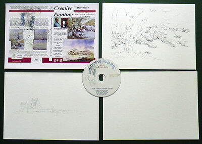 Not Painting by numbers professional instruction DVD and pre drawn sketches