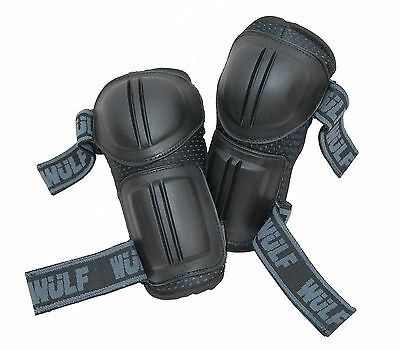 Wulfsport Kids Childrens Cub MX Motocross Enduro Off Road Elbow Pads Guards