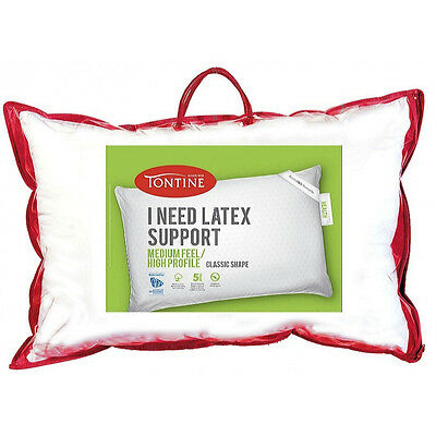 Tontine I Need Latex Support Pillow  RRP $59.95