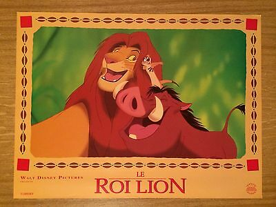 #199 Walt Disney The Lion King/Le Roi Lion Set Of 8x French Lobby Cards