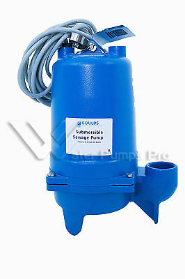 Goulds Submersible Sewage Pump WS0512B