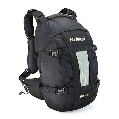 Kriega R25 Back Pack Rucksack Motorcycle 25 Litre Kreiga Touring Commuting