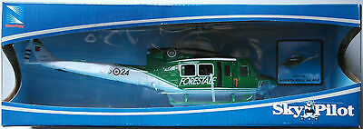 "NewRay Agusta Bell 412 ""Corpo Forestale"" Hubschrauber / Helicopter 1:48 Neu/OVP"