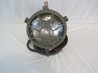 Vintage Circle D Natale Firetruck Spot Light (Steampunk) With Cord (HKR781005)