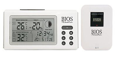 Thermor BIOS 312BC Indoor/Outdoor Wireless Thermometer and Hygrometer