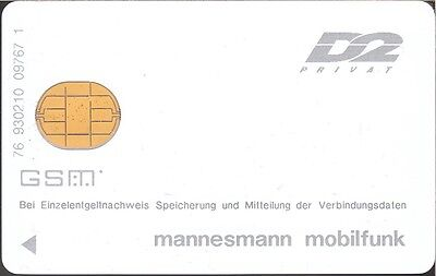 Germany - GSM - D2 privat - DD 930210 - R