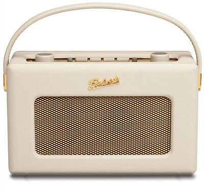 New Roberts Revival RD-60 Cream DAB/FM Digital Retro Radio 50's Style RD60