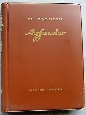 AGFACOLOR. by DR. HEINZ BERGER. ENGLISH VERSION