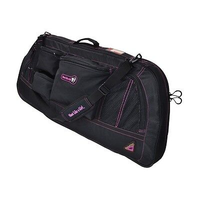 New GamePlan Gear Shoot Like A Girl Compound Bow Case Black/Magenta BWSG-PNK