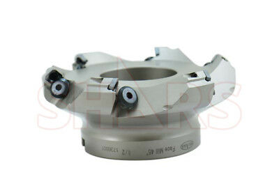 """Out Of Stock 90 Days Shars 5"""" Indexable Face Mill Sean Sekn Insert + Carbid"""