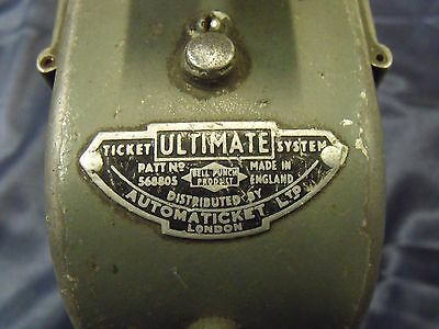 Ultimate ticket machine South Yorkshire P.T.E