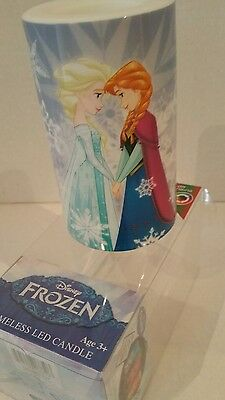 Disney's Frozen Flameless Color Changing LED Candle ELSA & ANNA