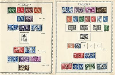 Great Britain Collection 1940 to 1979 On 40 Minkus Specialty Pages, SCV $300
