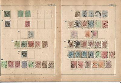 Romania Collection on Schaubek Pages 1872 to 1931, 10 Pages