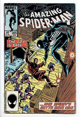 Amazing Spider-Man #265 - 1st App of Silver Sable (Marvel, 1985) - VG/FN