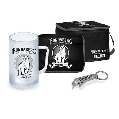 Bundaberg Rum Cooler Gift Pack Licensed  Accessory