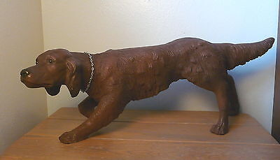 Vintage Pointer Retriever Hunting Dog Statue Universal Statuary