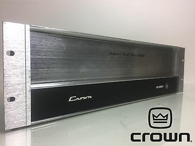 Vintage Crown Model D150 IC Stereo Amplifier - Fully Tested Working S/N: D1674
