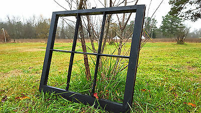 Vintage Sash Antique Wood Window Picture Frame Pinterest Wedding Painted Black