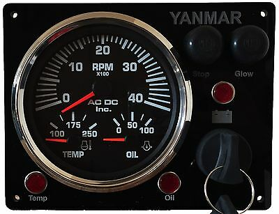 Type B Yanmar Panel After-Market Replacement with Multi-Gauge