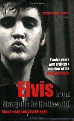 Elvis: From Memphis to Hollywood by Nash, Alanna Paperback Book The Cheap Fast