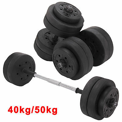 40KG 50KG Weights Dumbbell Set Gym Workout Fitness Biceps Exercise Training