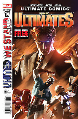 The Ultimates #17 Marvel Comic Book Vf  United We Stand..