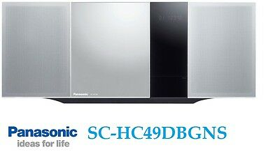 Panasonic Mini Hi-Fi System SC-HC49DBGNS