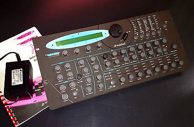 Waldorf Microwave XT Shadow - Limited edition - complete with original manual