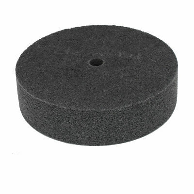 "8"" Dia 2"" Thick 7P 180 Grit Nylon Fiber Wheel Abrasive Polishing Buffing Disc"